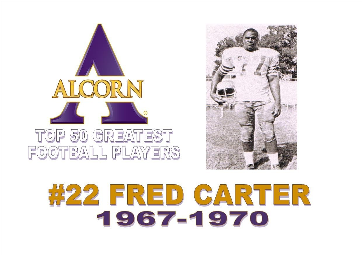 Top 50 Greatest Football Players No 22 Fred Carter Alcorn